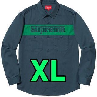 シュプリーム(Supreme)のXL Supreme racing work shirt(シャツ)
