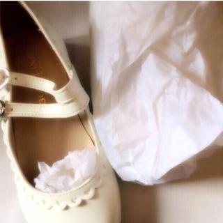 ボディライン(BODYLINE)のBODYLINE 靴 ホワイト(ハイヒール/パンプス)