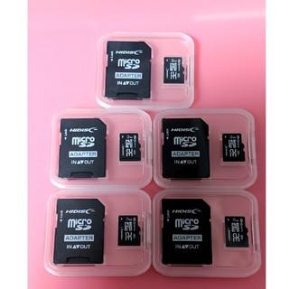 5枚セット microSDカード 32GB マイクロSDカード 32GB
