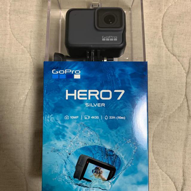 GoPro(ゴープロ)のGoPro HERO7 silver スマホ/家電/カメラのカメラ(その他)の商品写真