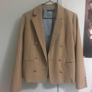 イング(INGNI)のジャケット コート キャメル ブラウン(テーラードジャケット)