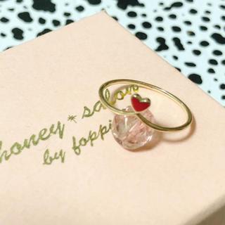 ハニーサロン(Honey Salon)のhoney salon K10 LOVEハートリング(リング(指輪))