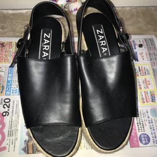 ZARA - ZARA ウェッジソール サンダル