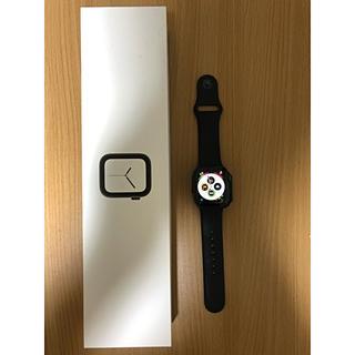 アップルウォッチ(Apple Watch)の Apple Watch Series 4 40mmスペースグレイアルミニウム(腕時計(デジタル))