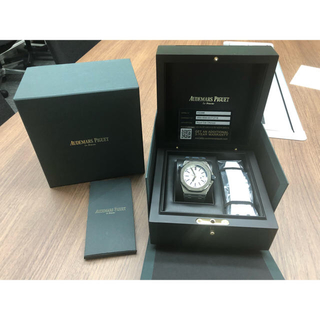 オーデマピゲ(AUDEMARS PIGUET)の美品APオーデマ ピゲ ロイヤル オーク オフショア ダイバー 15710ST(腕時計(アナログ))