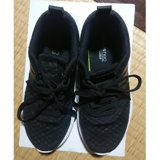 adidas - アディダス スニーカー 黒 23㎝