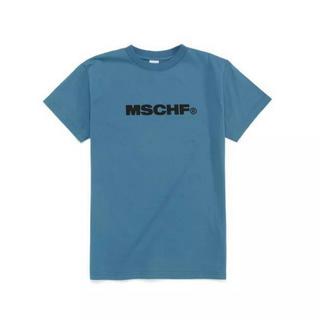 mschf   mischief  tシャツ ブルー(Tシャツ(半袖/袖なし))