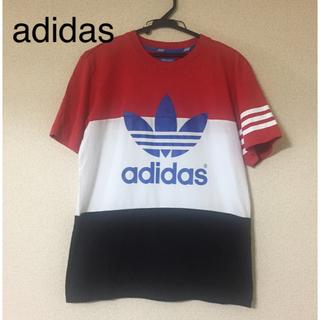 adidas - adidas Tシャツ(M)