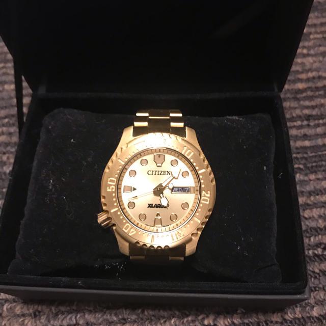 XLARGE(エクストララージ)のXLARGE✖︎CITIZEN 腕時計 メンズの時計(腕時計(アナログ))の商品写真