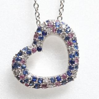 PonteVecchio - 【ポンテヴェキオ】エモツィオーネ ネックレス ダイヤサファイヤ Sサイズ