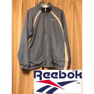 リーボック(Reebok)のReebok トラックジャケット 刺繍オールド 90s ワンポイントロゴ(ナイロンジャケット)