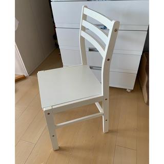 ニトリ(ニトリ)のニトリ チェア 椅子 ホワイト 白(ダイニングチェア)