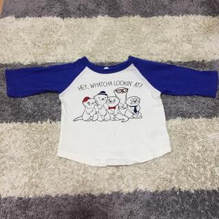 BREEZE - BREEZE 七分袖Tシャツ 80