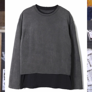 トーガ(TOGA)のperverze double long tee black(Tシャツ(長袖/七分))