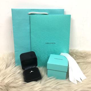 ティファニー(Tiffany & Co.)のティファニー ハーモニー ダイヤリング PT950 0.31ct(リング(指輪))