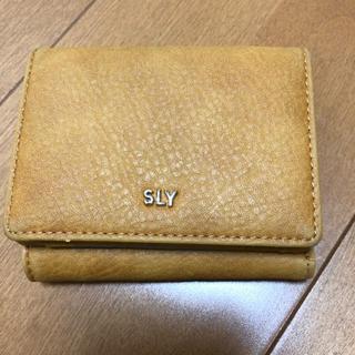スライ(SLY)のコインケース   財布 SLY(財布)