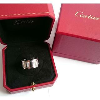 カルティエ(Cartier)の《箱付き》Cartier タンクフランセーズLM ダイヤリング(リング(指輪))