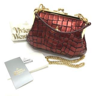 Vivienne Westwood - 美品 イタリア製 ヴィヴィアンウエストウッド 2WAY がま口 バッグ