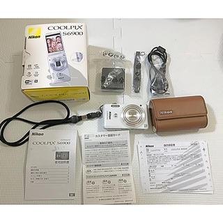 Nikon - Nikon COOLPIX S6900 デジタルカメラ カバー、保護フィルム付★