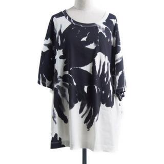 ドリスヴァンノッテン(DRIES VAN NOTEN)のDRIES VAN NOTEN Tシャツ ブラック ホワイト 黒 白(Tシャツ(半袖/袖なし))