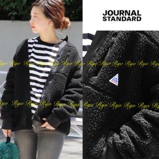 JOURNAL STANDARD - 新品⭐️ジャーナルスタンダード別注/ケープハイツ/フリースジャケット/ブラック