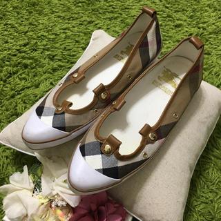 BURBERRY - burberryバーバリー❤レディシューズ 靴