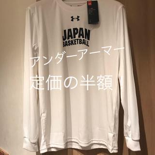 アンダーアーマー(UNDER ARMOUR)のUNDER ARMOUR アンダーアーマー バスケットボール男子日本代表 新品(Tシャツ/カットソー(半袖/袖なし))