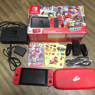 Nintendo Switch - 任天堂switch マリオオデッセイセット