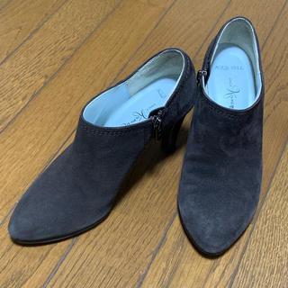 GINZA Kanematsu - ショートブーツ ブーティー 銀座かねまつ 23㎝ 中古品