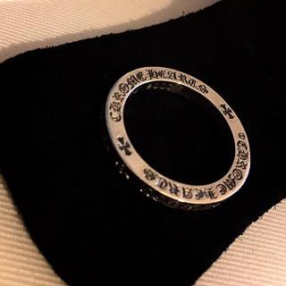 クロムハーツ(Chrome Hearts)のクロムハーツ NTFLリング 革袋付き 美品 #20 指輪 シルバーアクセサリー(リング(指輪))