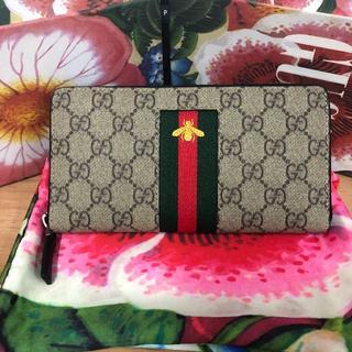 Gucci - GUCCI グッチ 長財布 財布 蜂 ハチ ウォレット シェリーライン