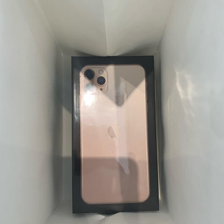 iPhone - iphone11 pro MaxSIMフリー未開封 ゴールド