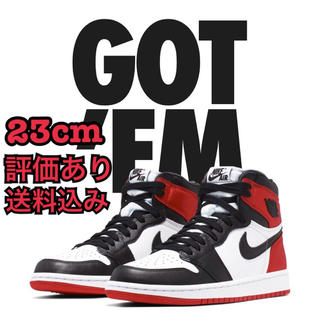 NIKE - NIKE AIR JORDAN 1 SATIN BLACK TOE