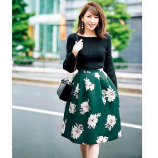 31 Sons de mode - トランテアン◆一度着美品◆ 美香コラボ ◆大花柄スカート