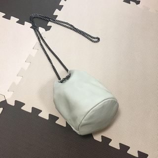 ローズバッド(ROSE BUD)のROSE BUD レザー バッグ ☆きんきゃく形(ショルダーバッグ)