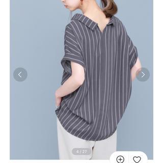 KBF - スキッパーシャツチュニック