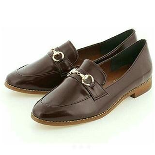 ベティクラブ(BETTYCLUB)のゴールド ビット ローファー(ローファー/革靴)