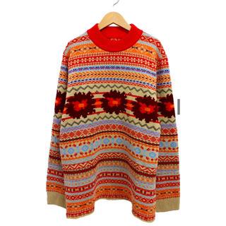 sacai - sacai (サカイ) フローラルニットプルオーバー セーター ニット 花柄