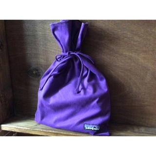 patagonia - パタゴニアPatagonia正規店リサイクルギフトバッグショップ袋プレゼント★紫