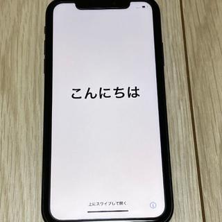 iPhone - iphone XR 64GB ブラック (美品)