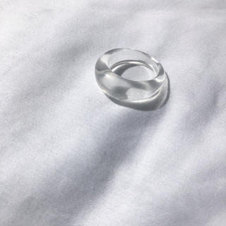 ▫️即納商品▫️Narrow clear ring(リング(指輪))