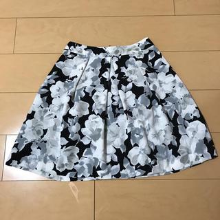 マーキュリーデュオ(MERCURYDUO)のマーキュリーデュオ スカート 花柄 (ひざ丈スカート)
