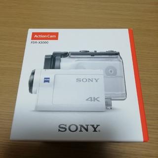 SONY - 新品・未開封!ソニー デジタル4Kビデオカメラ  FDR-X3000