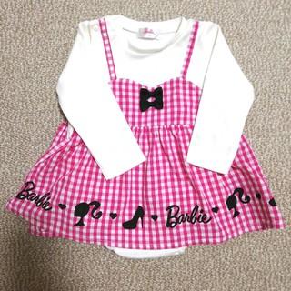 バービー(Barbie)のBarbie赤ちゃん服(70)(ロンパース)