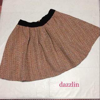 ダズリン(dazzlin)のdazzlin ダズリン ツイード柄 スカート (ミニスカート)