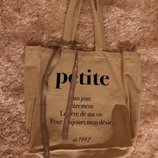 one after another NICE CLAUP - petite トートバック