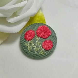 5)刺繍*ヘアゴム〈ハンドメイド〉