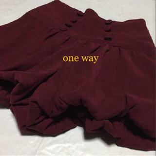 ワンウェイ(one*way)のワンウェイ ショートパンツ(ショートパンツ)