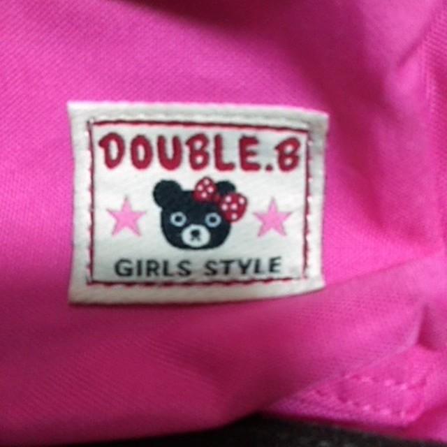 DOUBLE.B(ダブルビー)の子供のリュックサック キッズ/ベビー/マタニティのこども用バッグ(リュックサック)の商品写真