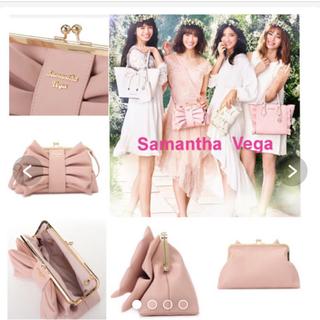 サマンサベガ(Samantha Vega)のSamantha Vega レザーリボンクラッチバッグ(クラッチバッグ)